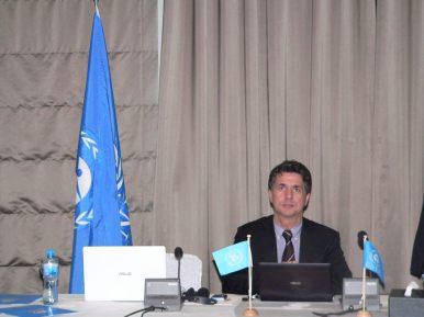 Marco Buoni, incaricato delle Nazioni Unite per la formazione dei tecnici nei paesi emergenti