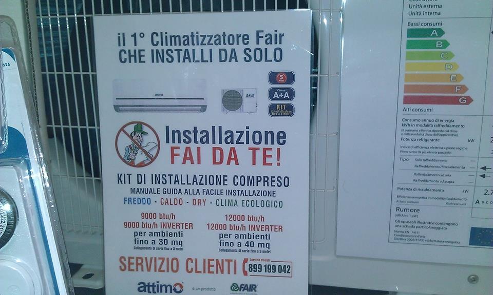 """Installazione Scaldabagno Fai Da Te : Atf stoppa la vendita dei condizionatori """"fai da te i f"""