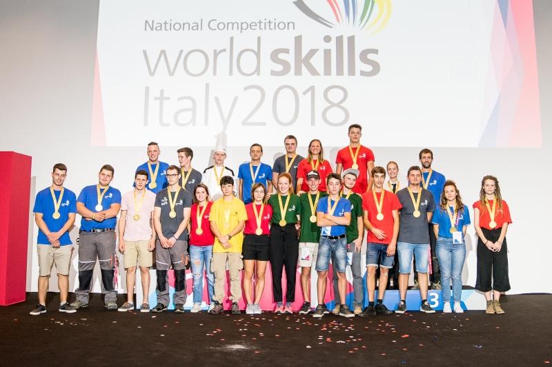 Foto - Worldskills Italy - I vincitori
