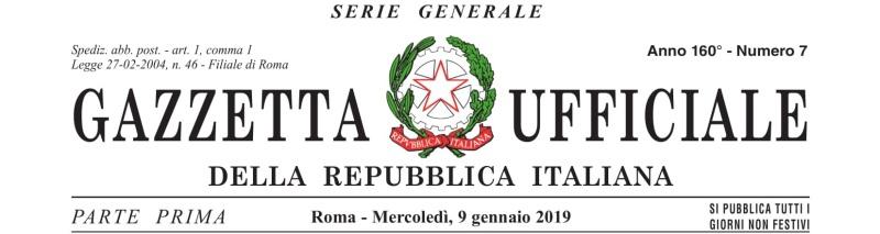 decreto del presidente della repubblica - 16 novembre 2018 n.146-01